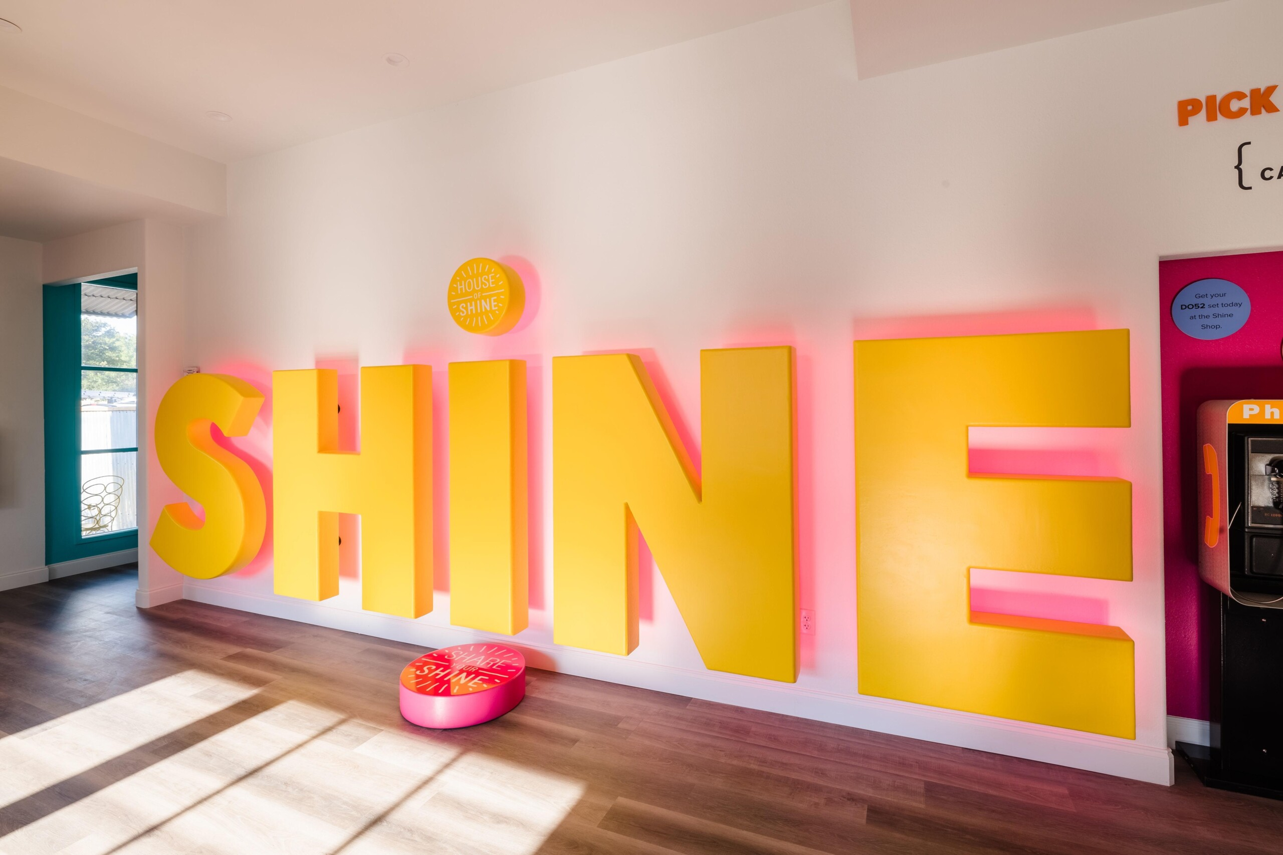 House of Shine Grand Opening Saturdays in September